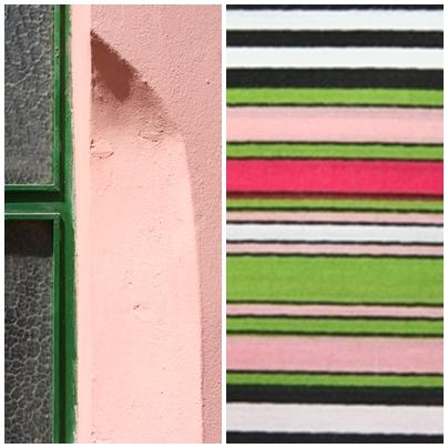 London mønsteret er inspireret af de mange farver og kontraster der findes i det levende byrum.