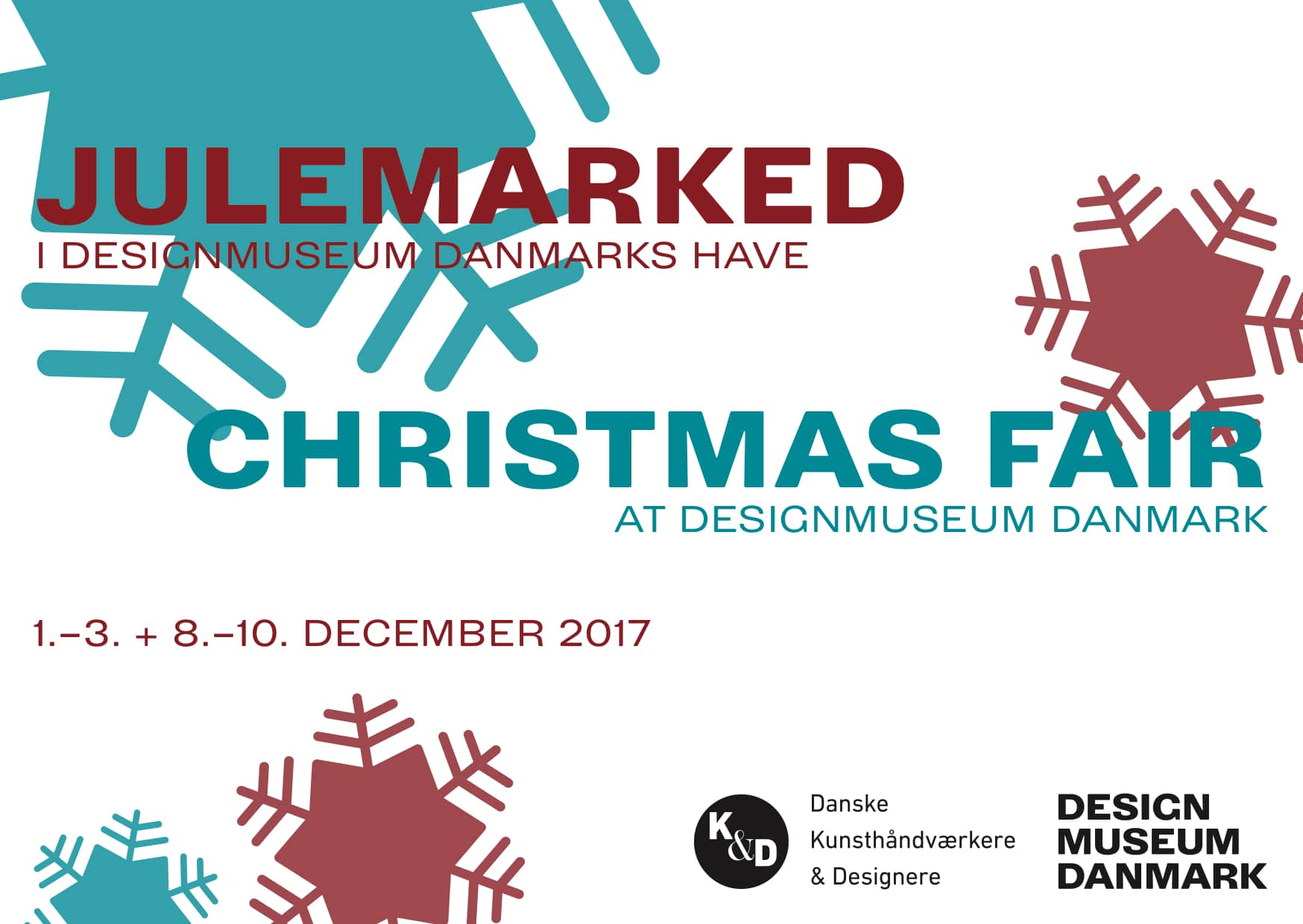 Julemarked I Design Museum Danmarks have