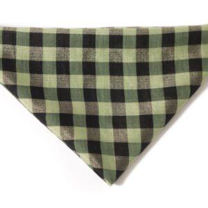 Grønt Silke tørklæde