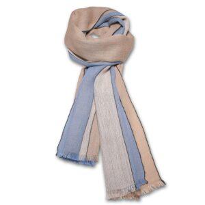 Baby Alpaca Blue tørklæde.
